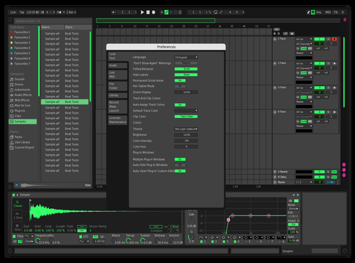 GreenNeon Theme for Ableton 10 by Emanuele Ceciliato