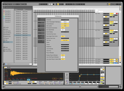 Tt teste Theme for Ableton 10 by Silva
