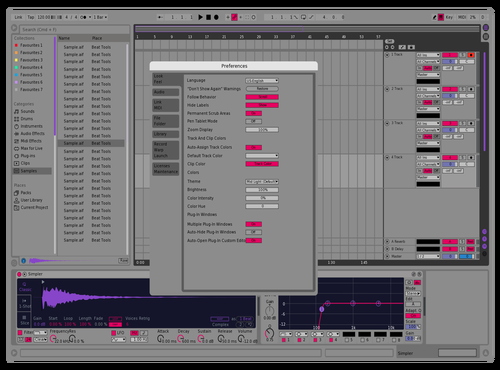 Tweak Theme for Ableton 10 by wattup