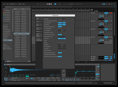 MyFlavor Theme for Ableton 10 by jebiga