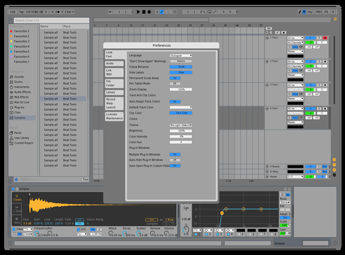 Ableton Tools Theme for Ableton 10 by Chris DeStefano