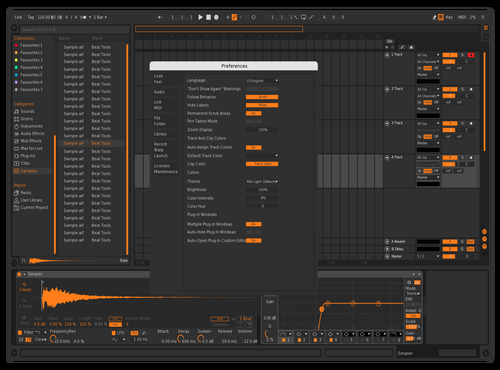 Dark Theme for Ableton 10 by kiavash
