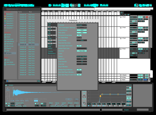 Dima22839 Theme for Ableton 10 by dima22839