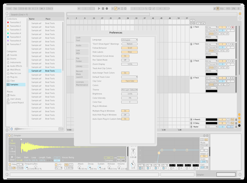 Ultra Lite Theme for Ableton 10 by PunMachine