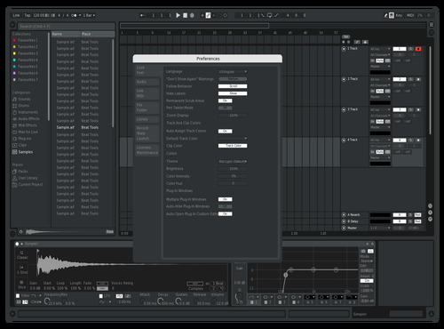 A1 WhiteAndBlackv2 Theme for Ableton 10 by jj