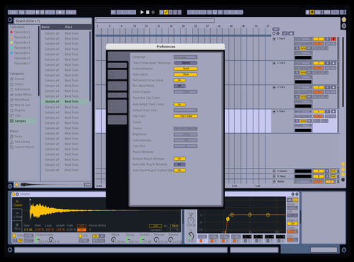 Live 8 Theme Theme for Ableton 10 by cleiton
