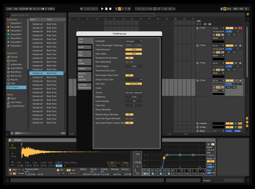 DarkMonk Theme for Ableton 10 by 3E