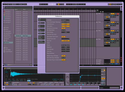 LowPhat Theme for Ableton 10 by Andre sOARES Torres