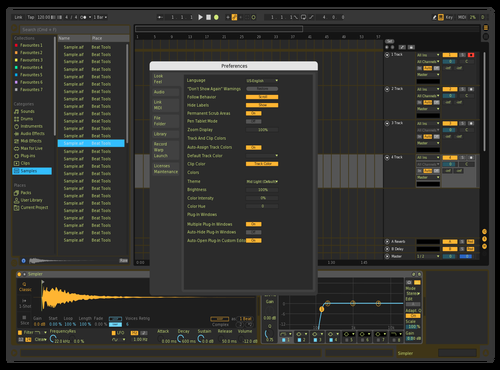 MY_Yellow Theme for Ableton 10 by Zeus