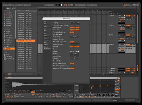 Bitwig-ish 3 Theme for Ableton 10 by arson