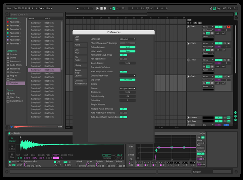 #GurNey3 Theme for Ableton 10 by Gurney