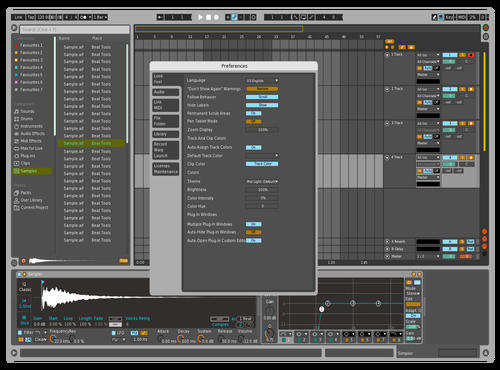 A Theme for Ableton 10 by HOYE