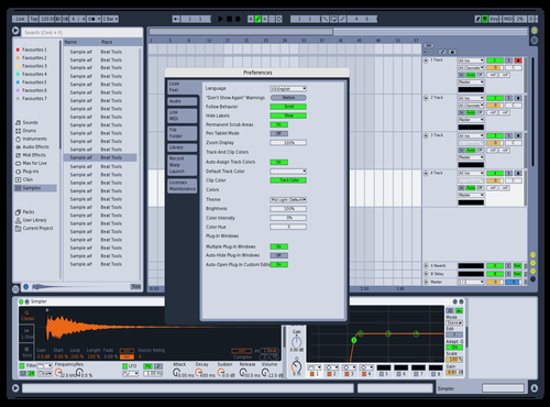 Clouds (Ableton 9) Theme for Ableton 10 by Malitha