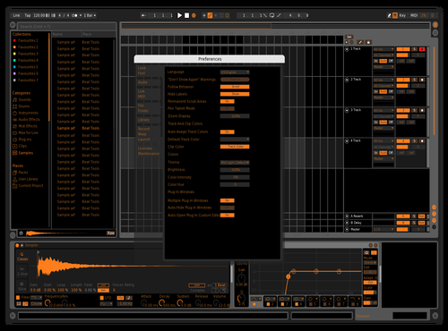 DarkOranch Theme for Ableton 10 by Oranch