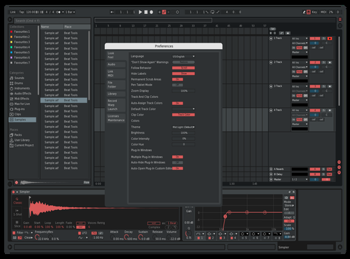 Red Theme for Ableton 10 by Joseph Walker