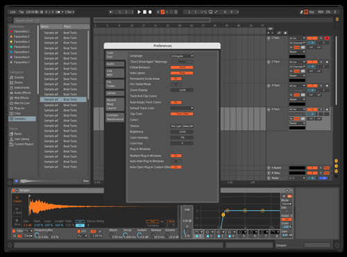 JDiggle Theme for Ableton 10 by John Wilson