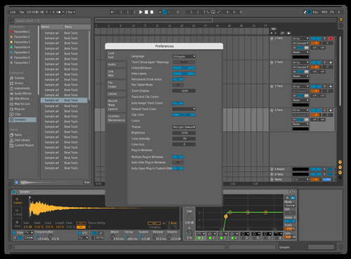 Top music Theme for Ableton 10 by Lucas