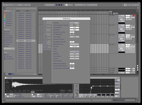 Studio Blu Theme for Ableton 10 by dee