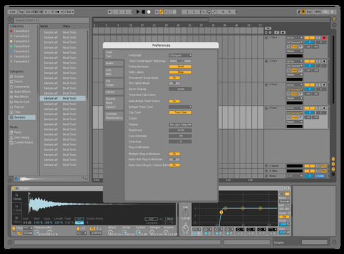 DEFWHITETIPO1 Theme for Ableton 10 by david