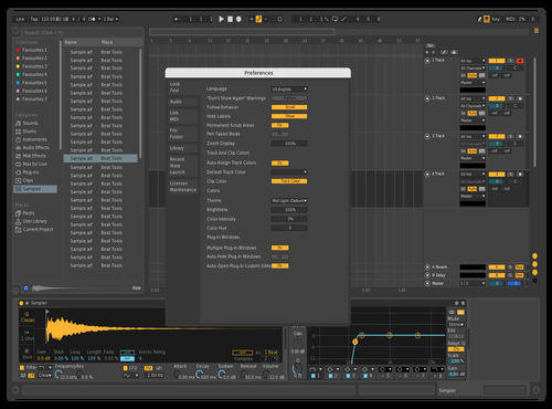 AK-Theme Theme for Ableton 10 by Andrej Kobal