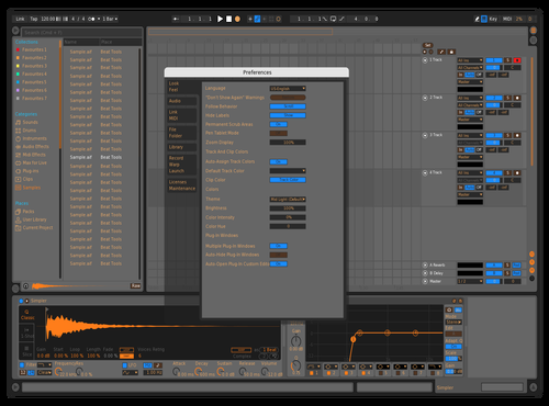 OrangytangyX Theme for Ableton 10 by Brother Xah