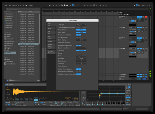 Test Theme for Ableton 10 by Display