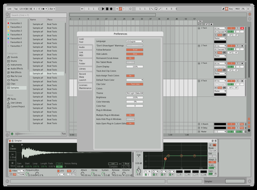 Redux (WiP) Theme for Ableton 10 by TImebongo