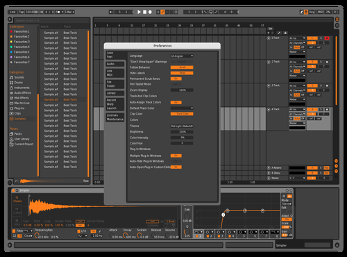 Machine Pro 2 Theme for Ableton 10 by Jose