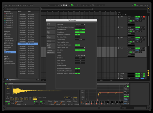 AGZ Theme Theme for Ableton 10 by Alexandre GOMEZ