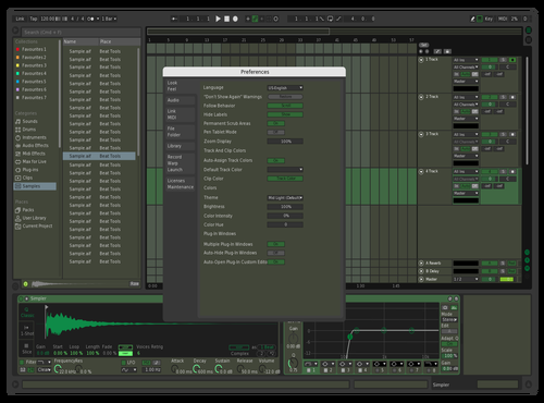Dark forest Theme for Ableton 10 by Vijay Nambiar