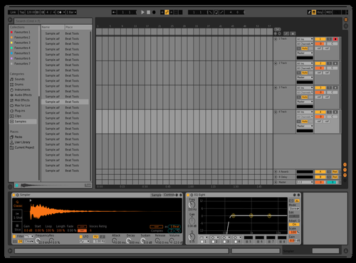 Massgrey Theme for Ableton 10 by Davey