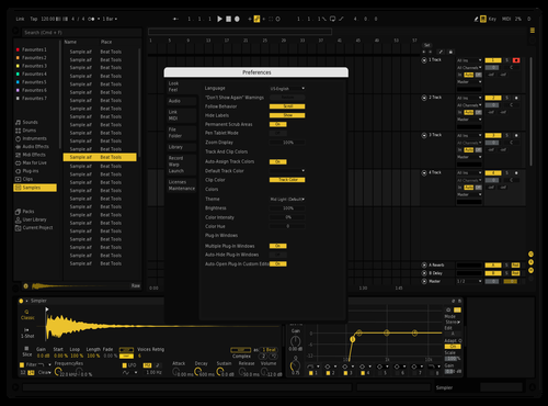 Blackout Theme for Ableton 10 by teriyxki