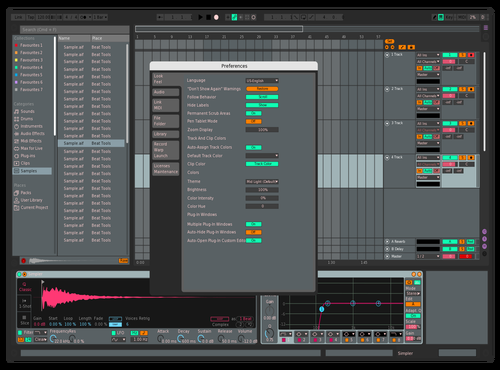 ComfortabletON Theme for Ableton 10 by Vasisdas86