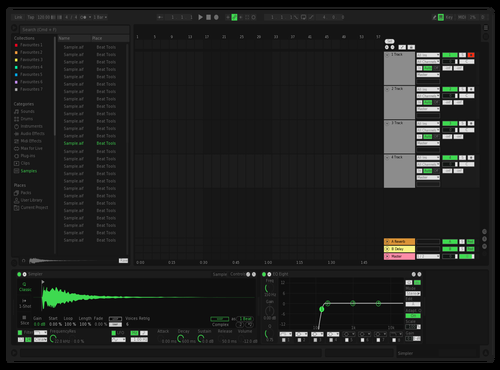 Spotify UI (Easier to Read) Theme for Ableton 10 by Michael