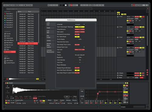 Russiam Theme for Ableton 10 by alexandr