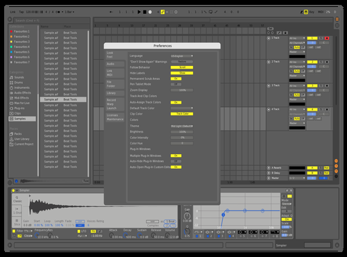 Germmm Theme for Ableton 10 by german