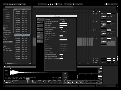 Ez  theme Theme for Ableton 10 by mersQ