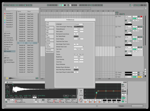 LeocelSHEETVERSION Theme for Ableton 10 by Leocel