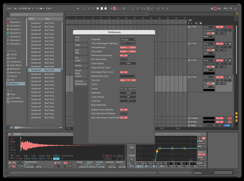 Ifoewewf Theme for Ableton 10 by P
