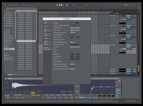 Fl Studio Mid Dark Theme for Ableton 10 by Matthias