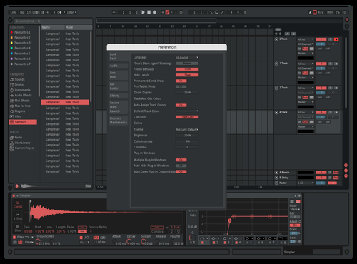 Red Theme for Ableton 10 by ******