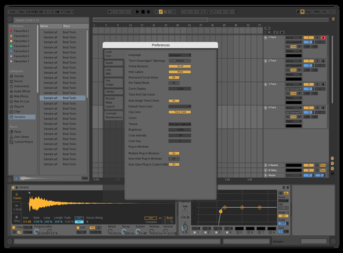 Johan Grey Theme 1.0 Theme for Ableton 10 by Johan