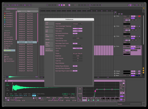 Qwiksave Theme for Ableton 10 by Patrick