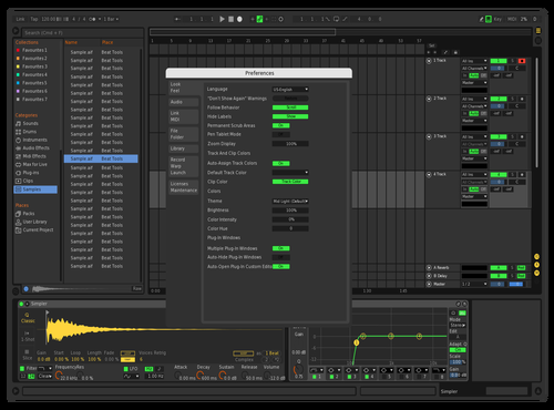 MyFav_01 Theme for Ableton 10 by bob