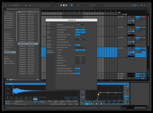 Blue ******* Fury Theme for Ableton 10 by Cowbe