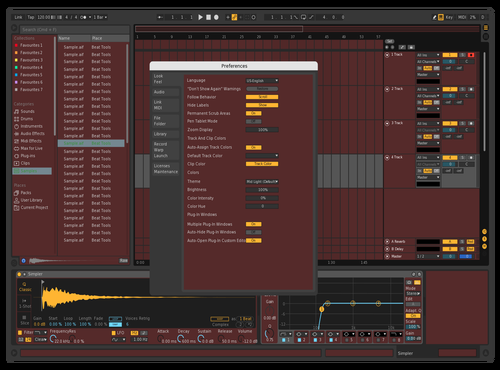 Bbox 0.1 Theme for Ableton 10 by groovepaw