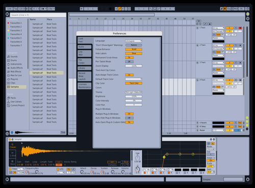 #LIGHT_Abl10_Light_Abl8 Theme for Ableton 10 by flaviodutra