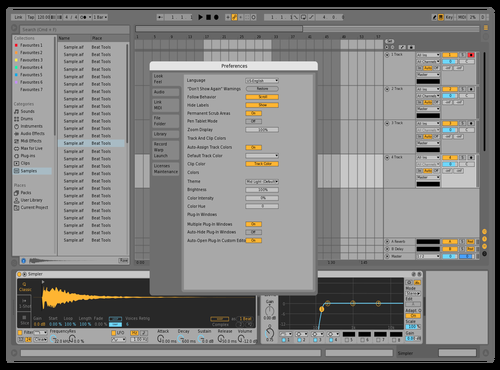 **** 2 return of the **** Theme for Ableton 10 by jcan