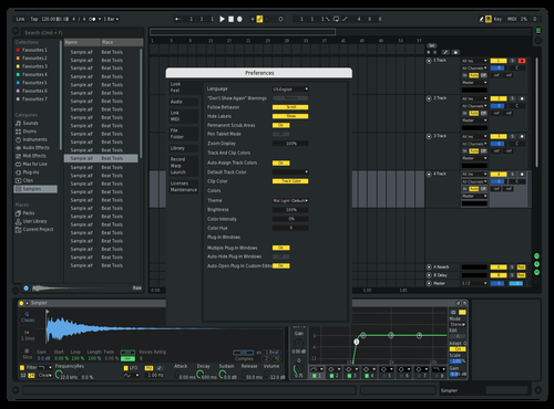 Drop. LT Remake V2 Theme for Ableton 10 by DropPhaze