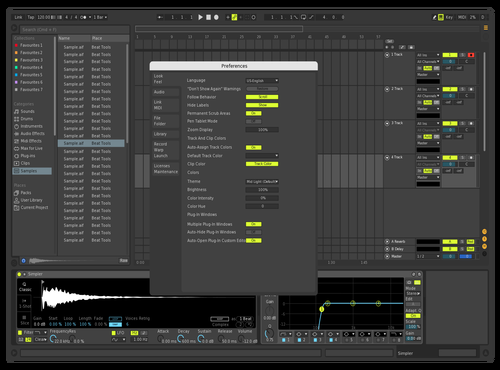 Skin 1 Theme for Ableton 10 by Stephan Cacic